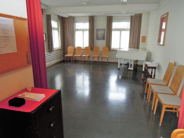 Übungs- und Unterrichtsraum in der Altstadt von Zürich